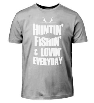 Funny Hunter Fishing Gift Deer Hunter