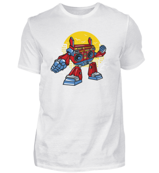 ☛ Boombox Robot #20.1