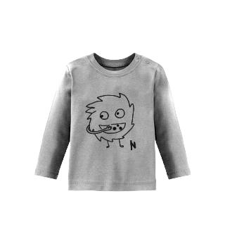 Dude - Baby t-shirt sleeves