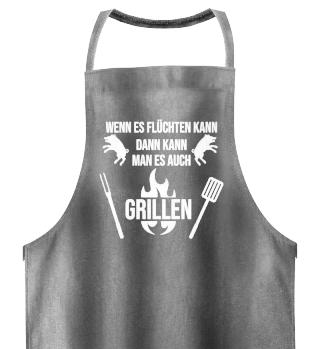 Grillschürze - Sommer, Grillen, Fleisch