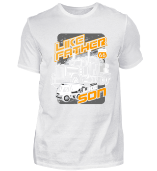 Truck driver - Trucker - Father