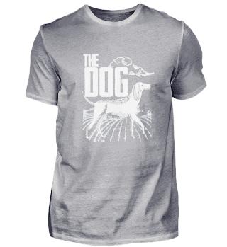 Hundebegleiter Bauernhof Tier T-Shirt
