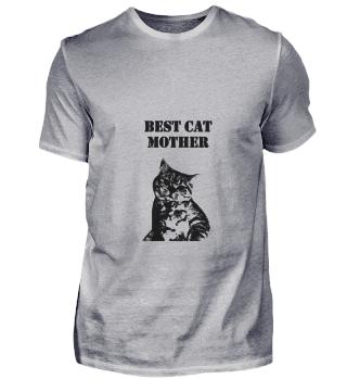 Katze Beste Katzenmutter Spruch englisch