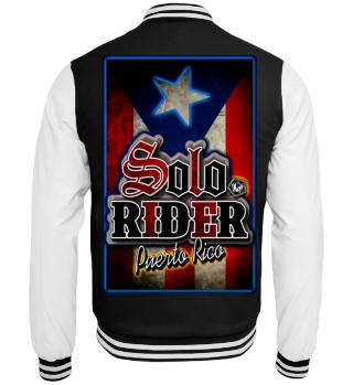 Herren College Jacke Solo Rider Ramirez