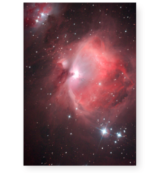 Poster Orion-Nebel M42