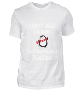 don't need therapy just penguin