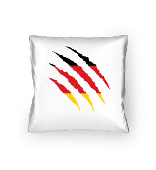 Deutschland Flagge WM Kissen Geschenk