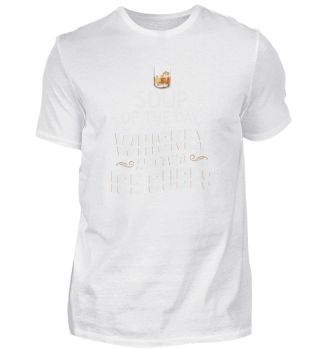 Soup of the Day Whiskey two Ice Cubes