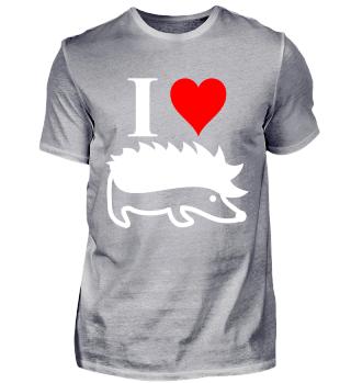 Igel Herz Tiere Liebe Geschenk Idee