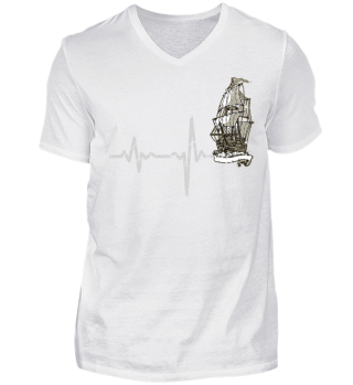 Heartbeat Segelschiff