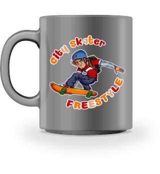 ♥ CITY SKATER · FREESTYLE #3BT