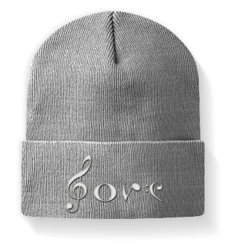 Musik Love - Mütze