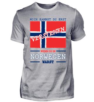 Norwegen T Shirt Geschenk