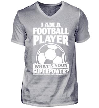 Football Soccer Shirt I Am A