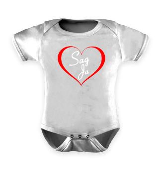 Baby Strampler Heiratsantrag Geschenk