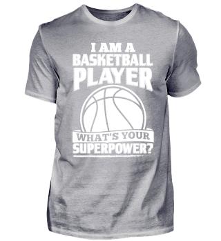 Funny Basketball Shirt I Am A