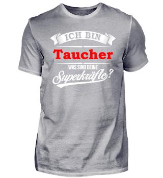 Taucher Tauchen Tauchlehrer Superkräfte