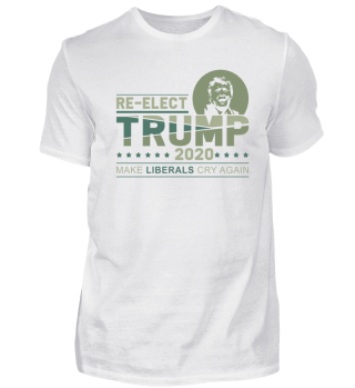 Reelect Trump 2020 - Vote Tee