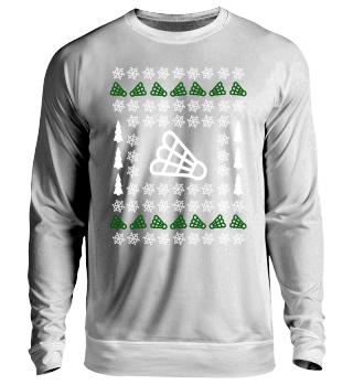 Ugly Christmas Badminton Sweater