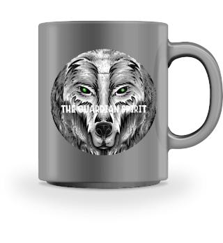 ♥ SCHUTZGEIST · WOLF · KREIS · GRUNGE #4WT