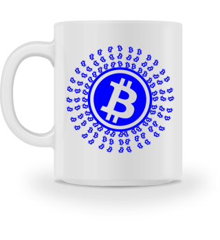 GIFT- BITCOIN CRYPTO BLUE