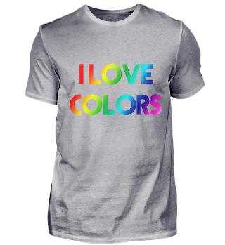 Colourful Shirt Rainbow