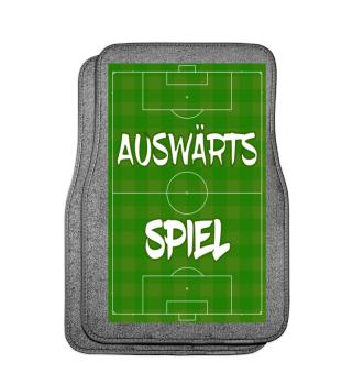 Fußball Fussball Automatte Fußmatte Auswärts, Auswärtsspiel, Auswärtstour, Autofußmatte, Bayern, Dortmund, Fußballfeld, Köln, Schalke, Hamburg, Berlin, tour