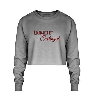 Focusine Klang® Crop Sweatshirt