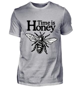 Time is Honey Imker Design mit Biene