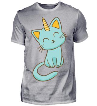 The Blue Cat Unicorn!