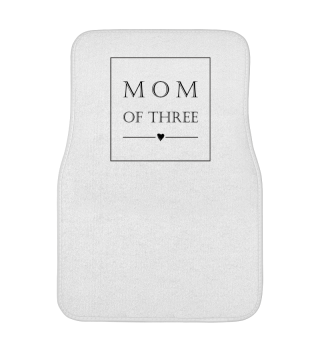 ♥ Minimalism Text Box - Mom Of Three 1
