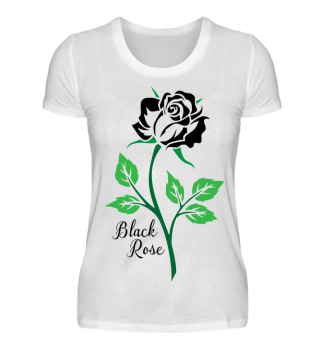 Beautiful Black Rose