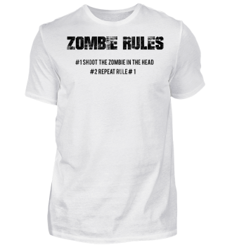 Zombie Rules Vintage