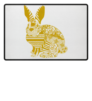 ★ Artistic Ethno EASTER BUNNY 7