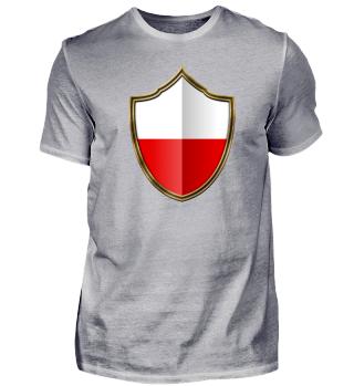 Poland-Polska Wappen Flagge 016