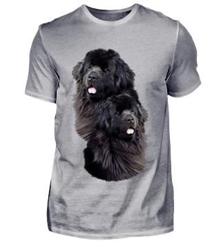 Neufundländer Hunde T-Shirt