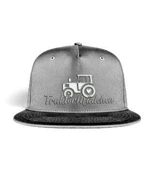 Traktor Mädchen Mütze