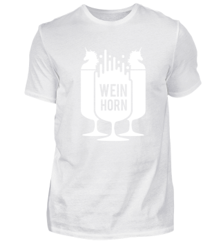 Weinhorn Unicorn Weinglas