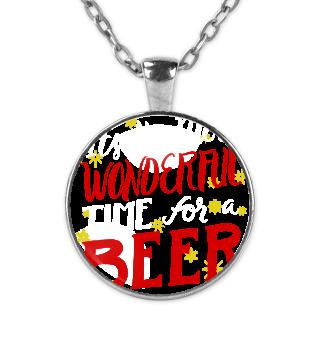 Wonderful Time for Beer. Christmas X-Mas