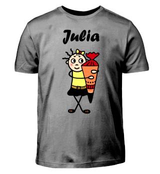 Julia - Einschulung I-Dötzchen