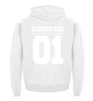 Daddys Girl Vater Tochter Hoodie Partner