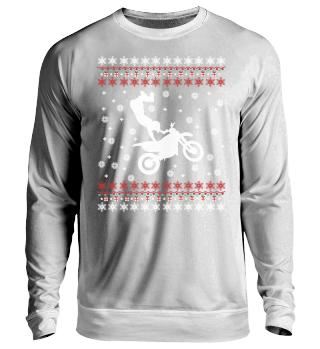Motocross Ugly Xmas Sweater Geschenk
