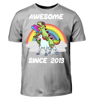 Einhorn Geschenk Shirt 5. Geburtstag