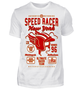 Herren Kurzarm T-Shirt Speed Racer Ramirez