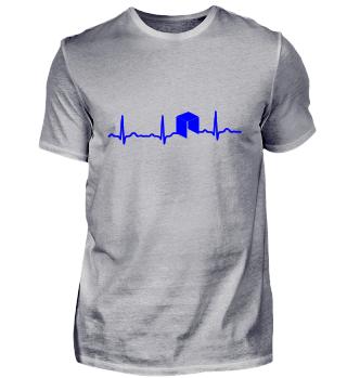 GIFT - ECG HEARTLINE ANTSHARES BLUE