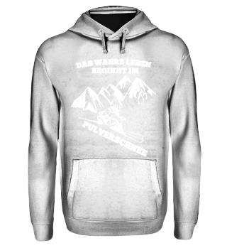 Berge - Ski Pulverschnee