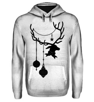 Christmas Deer with Ornaments II