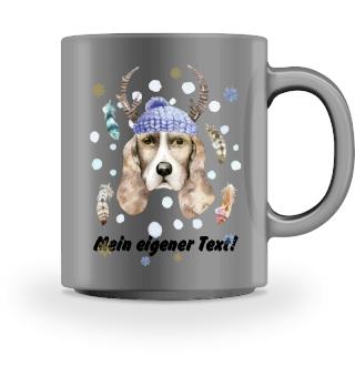 ☛ Merry Christmas · Boho Dog #5CPT