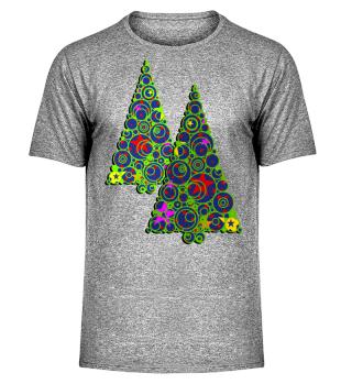 ★ Modern Christmas Tree Rings I