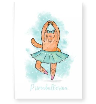 smietz Poster DIN A3 - Ballet Katze